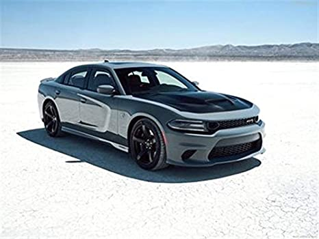 Dodge Charger Srt Hellcat >> Amazon Com Dodge Charger Srt Hellcat 2019 Poster 18 X 24