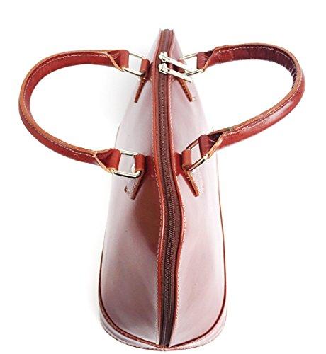 Superflybags - Bolso de asas para mujer L marrón