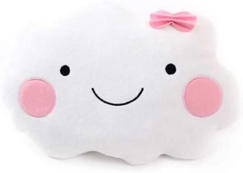 UK Lovely Small Moon Star Cloud Shape Nap Pillow Throw Pillow Plush Doll Toy