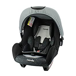 Child car seat Beone Grp 0+ (0-13kg) Nania Skyline black