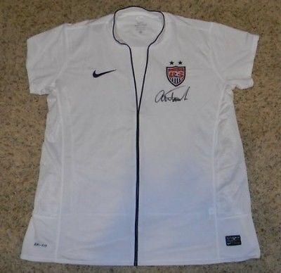 finest selection df9be 2e0f8 Signed Abby Wambach Jersey - Nike White Usa - JSA Certified ...