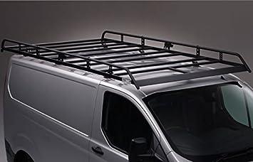 Van Demon Rhino Delta 4 Bar Roof Bars and Rear Steel Ladder Roller System for VW Transporter T5 03-15