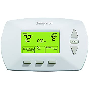 Honeywell RTH6450D1009/E1 RTH6450D1009 5-1-1-Day Programmable Thermostat, White