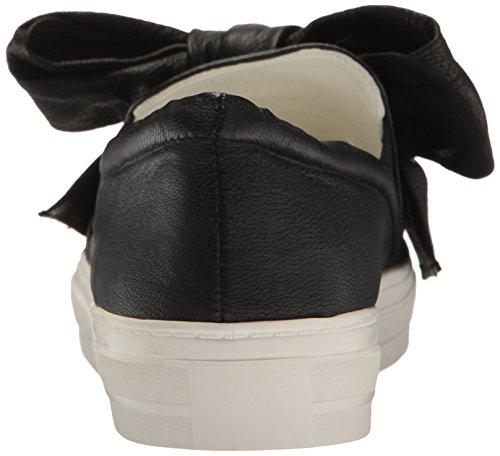 Ni Vest Kvinders Onosha Læder Mode Sneaker Sort 9tFXD3WA2f