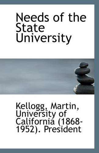 Download Needs of the State University PDF