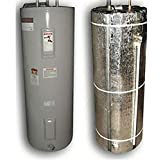 Reflective Water Heater Blanket Jacket Insulation Fits 50 Gallon Tank R Value 6 (Tape)