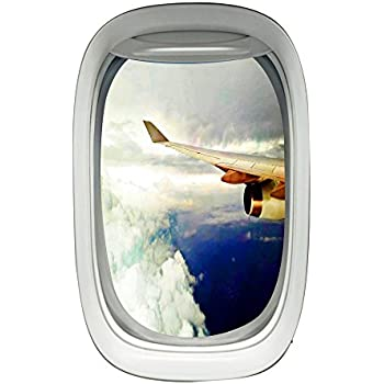 Amazon Com Airplane Window Clings Aviation Decals