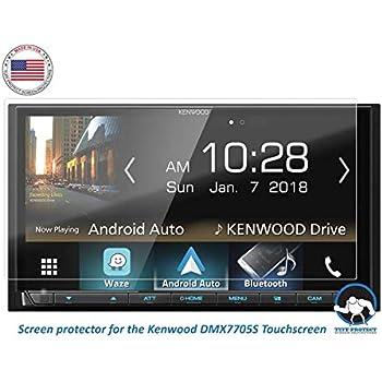 Tuff Protect Anti-Glare Screen Protectors for Kenwood DMX7705S Car Indash  DVD Receiver