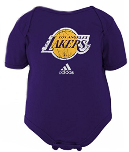 58e35b68b Los Angeles Lakers Infant Bodysuit Onesie Creeper Size 12