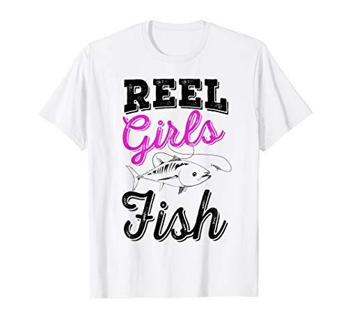 (Reel Girls Fish Funny Fishing T Shirt For Men Women Gift )