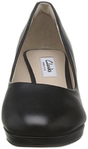 Clarks Kelda Hope, Zapatos de Tacón para Mujer negro