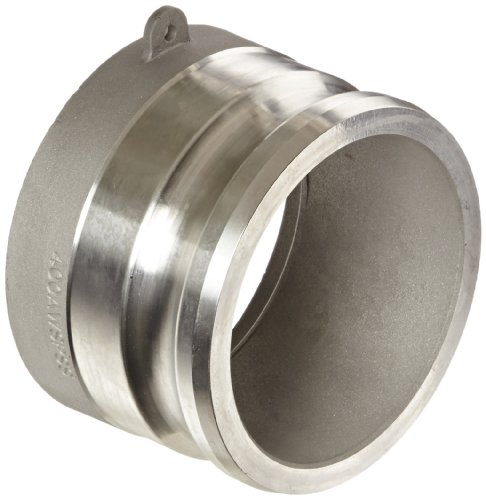 Dixon 400AWSPSS Stainless Steel 316 Cam and Groove Hose Fitting for Socket Weld to Schedule 40 Pipe, 4