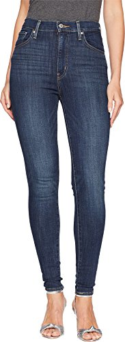 Levi's Women's Mile High Super Skinny Jeans, Indigo Canvas, 29 (US 8) (High Rise Jeans Women)