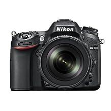 Nikon D7100 24.1 MP DX-Format CMOS Digital SLR with 18-105mm f/3.5-5.6 Auto Focus-S DX VR ED Nikkor Lens (Certified Refurbished)