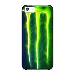 Iphone 5c CcT13259EYdr Custom Realistic Monster Pictures Perfect Hard Phone Cover -JasonPelletier