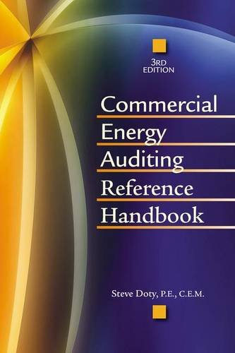 Commercial Energy Auditing Reference Handbook, Third Edition