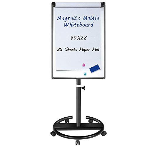 Magnetic Mobile Whiteboard 40x28