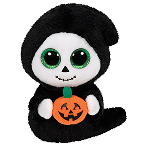 [Treats The Ghoul Ghost Halloween Beanie Boos Stuffed Plush Animal Toy] (Boo Baby Costume)