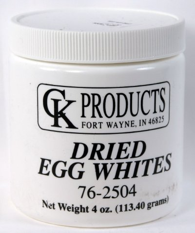 Dried Egg Whites by Ck Products 4 oz.