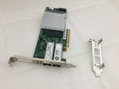 HP NC523SFP 10GB 2-Port Server Adapter Card QLE3242-HP 593717-B21//593742-001