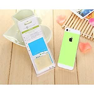 DD LR-0846 Mobile Phone Toughened Glass Protective Film for iPhone 5 /5S/5C (Assorted Colors) , Yellow