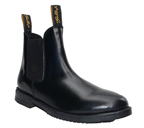 Leather Jodhpur Classic Black Gallop Boots wq4an1PXx
