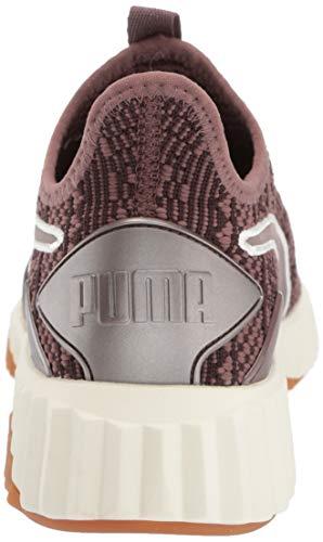 Peppercorn metallic Puma Tennis Wn's Ash Defy 2 Femme qZZz7Xw