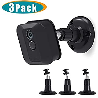 Blink XT2 Camera Wall Mount Bracket, Mrount 360 Degree Adjustable Mount for Blink XT2 Blink XTOutdoor/Indoor Camera, Fits Blink Home Security Camera System Accessories(3 Pack, Black) (B07D5WT3X7)   Amazon price tracker / tracking, Amazon price history charts, Amazon price watches, Amazon price drop alerts