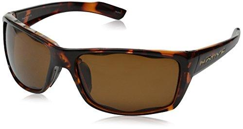 Native Eyewear Wazee Sunglasses, Brown Lens/Maple Tort - Summit Sunglasses