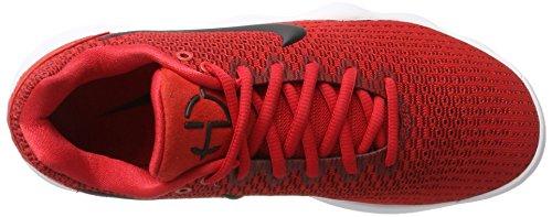 Basketballschuhe Herren Red University Low Black White Team Hyperdunk Nike Mehrfarbig Red 2017 fRgWR1
