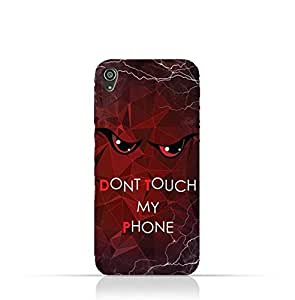Sony Xperia XA TPU Silicone Case With Do not Touch My Phone 3