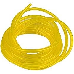 """HIPA 10-Feet (3-Meter) Petrol Fuel Line Hose I.D 1/8"""" x O.D 1/4"""" Tubing for Common 2 Cycle Small Engine"""