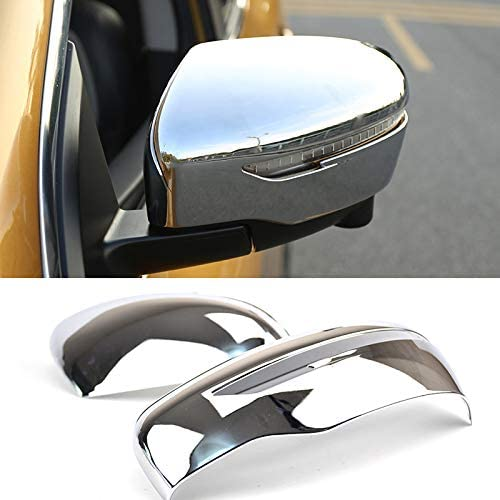 Rear Window Spoilers Corner Trim For Nissan Rogue Sport Qashqai J11 Chrome Cover