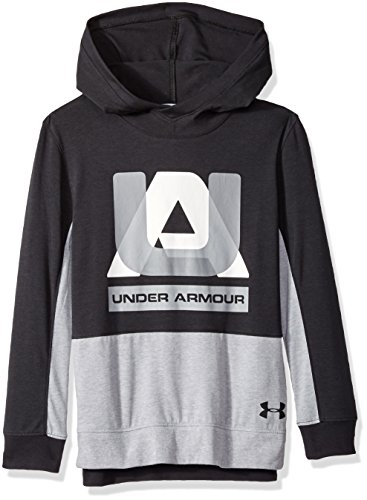Under Armour Boys sportstyle Hoodie, Black (001)/Black, Youth X-Large