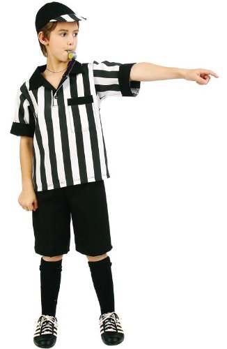 Kids Referee Boys Halloween Costume, Small 4-6