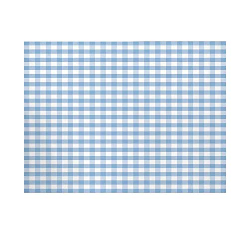 Checkered Photography Background,Little Squares and Stripes Pastel Color Gingham Repeating Rows Vintage Tile Backdrop for Studio,10x6ft