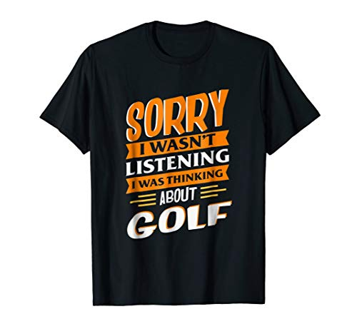 Funny Golf T-Shirt Put and Bogey Tee for Golfer Dads