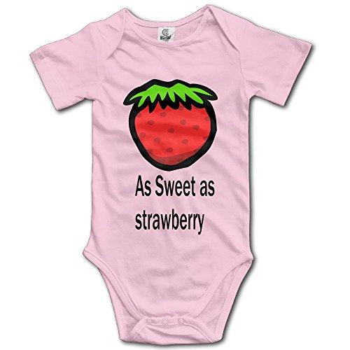 Kkajjhd As Sweet As Strawberry Kids Boys Girls Baby Bodysuit Outfits Baby Onesies