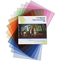 Rosco Color Correction Filter Kit for Photographers and Filmmakers, 12x12