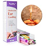 Earwax Candle, Earwax Remover, Earwax Removed, 16x Ear Candles (8X Set of 2), with Filter incl. Instructions Mix