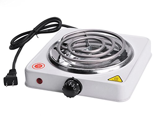 Mini Silex Portable Electric Burner Hot Plate 1000W US Plug for Cooking