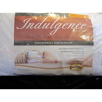 isotonic indulgence king backstomach sleeper pillow