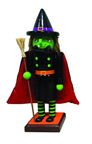 Santa's Workshop Halloween Witch Nutcracker, 10