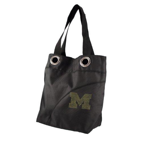 Littlearth NCAA Sport Noir Glanz Tasche Michigan Wolverines