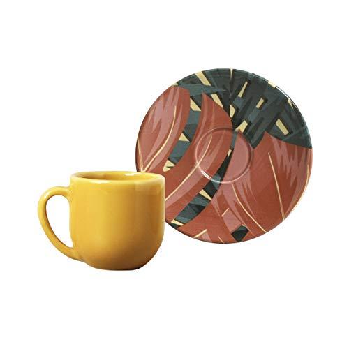 Porto Brasil Conjunto Com 6 Xícaras De Café Coup Sumatra Multicor