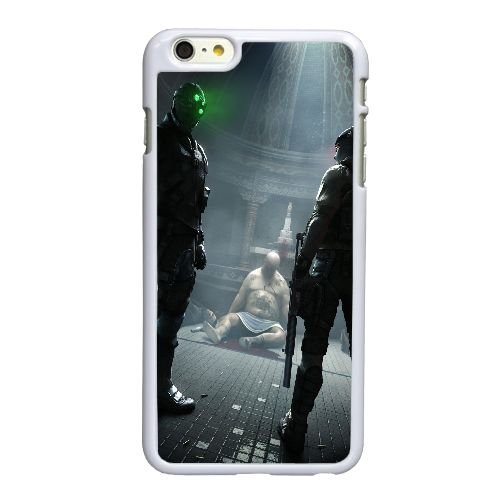 S4U15 conviction de Splinter Cell K1O7PR coque iPhone 6 Plus de 5,5 pouces cas de couverture de téléphone portable coque blanche DL1WPE4CV