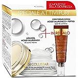 Collistar attivi puri aquagel acido ialuronico idratante liftante + contorno occhi peptiti