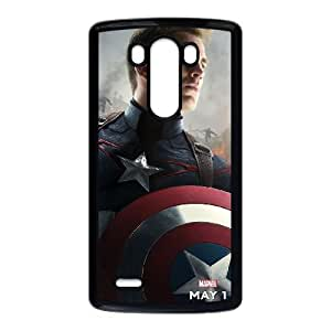 Captain Americ LG G3 Cell Phone Case Black Gift pjz003_3170438