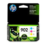 HP 902 Cyan, Magenta & Yellow Ink Cartridges, 3 Cartridges (T6L86AN, T6L90AN, T6L94AN): more info