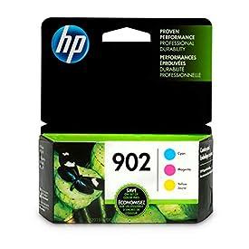 HP 902 Cyan, Magenta & Yellow Ink Cartridges, 3 Cartridges (T6L86AN, T6L90AN, T6L94AN)